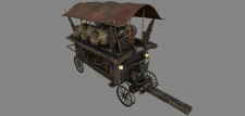 Witch hunters carriage