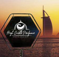 Логотип для парфумів з ОАЕ (Близький Схід)