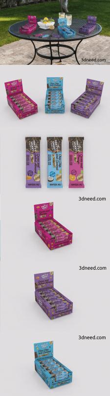3d Моделирование и визуализация упаковки