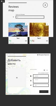 Reviews map