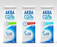Разработка упаковки средства для носа АКВАСОЛЬ