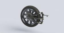 Проектировал усиление маятника мотоцикла