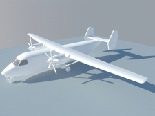 3D-моделирование самолета АН-38 в Google SketchUp