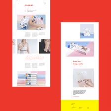 Дизайн сайта креативного агентства