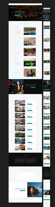 Landing page для отеля