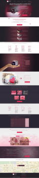 Landing-page lovecube