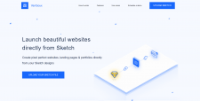 Sketch Beautiful Websites - adaptive layout of the