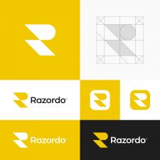 Razor R Letter Logo