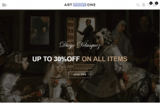 Shopify интернет-магазин artpointone.store
