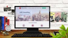 Разработка сайта для LAB Consulting