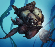2д art Серия рыбы
