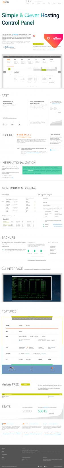 Настройка сервера Centos 7 + VestaCp