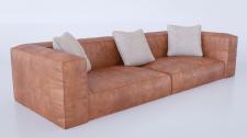 Моделирование и визуализация кожанного дивана