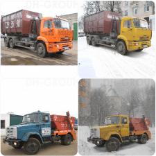 Перенос грузовиков с осенних улиц на зимние