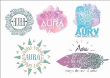 варіанти логотипу для фітнес студії