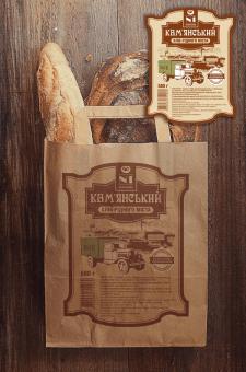 Дизайн этикетки и упаковка для Хлебзавода