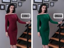 Зміна кольору об'єктів на фото
