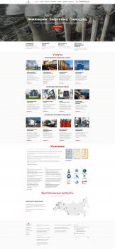 Сайт для инжиниринговой компании Ruscontrol