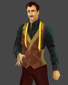 Высокий мужчина