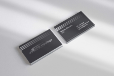 Business card for cargo company