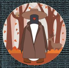 Иллюстрация пингвин