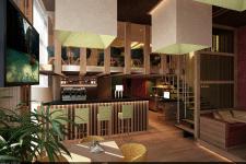 Кафе Travel Bar (барная стойка)