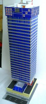 Архитектурный макет в масштабе НО 1:87
