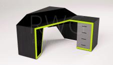 Визуализация зеленого стола