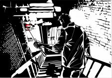 иллюстрация подвал