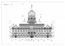 Культовые сооружения фасад