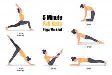 Йога комплекс для проработки всего тела