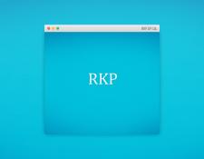 Бизнес-сайт юридической компании RKP