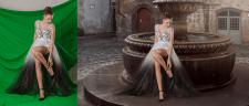 Замена фона, художественная обработка фотографии