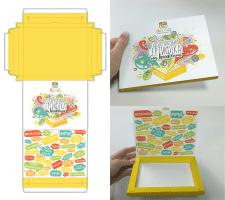 Выкройка и дизайн упаковки для сертификатов