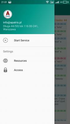 SMS gate - приложение для sms информирования