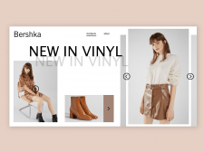 Bershka desktop site