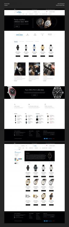 Ecommerce - часы