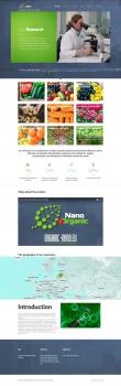 ИНТЕРНЕТ САЙТ КОМПАНИИ Nano Organic