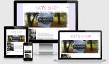 Интернет-магазин чашек с ручной розписью Cats-shop