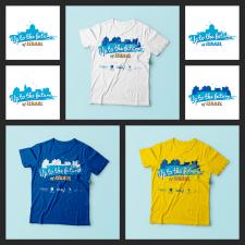 Дизайн футболок для туристической компании