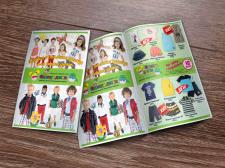 Флаер для детского магазина одежды