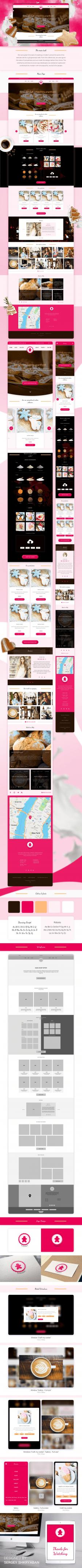 Gingery - Website Design