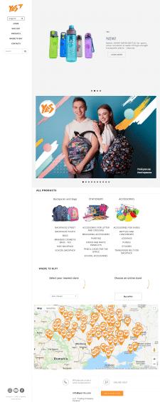 Стильные рюкзаки и канцтовары (Opencart)