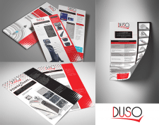 Набор флаеров для компании DUSO