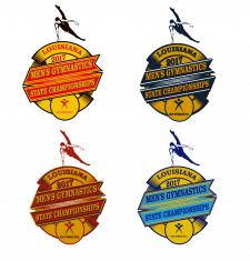 серия тематических лого для спортивных событий