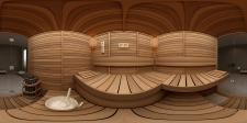 Сауна. Сферическая панорама