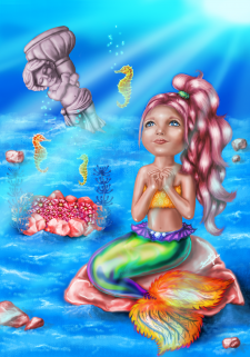 Иллюстрация к детской сказке