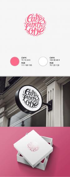 Дизайн лого для Cake with love