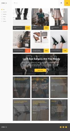 Концепт онлайн магазина