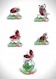 """Логотип-иллюстрация """"касса365.ру"""""""